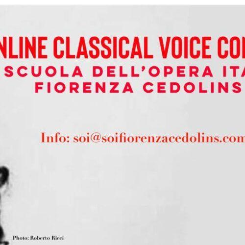 ACTUALITÉS- Le premier « Concours de chant lyrique virtuel SOI » (Scuola dell'Opera Italiana il Fiorenza Cedolins)