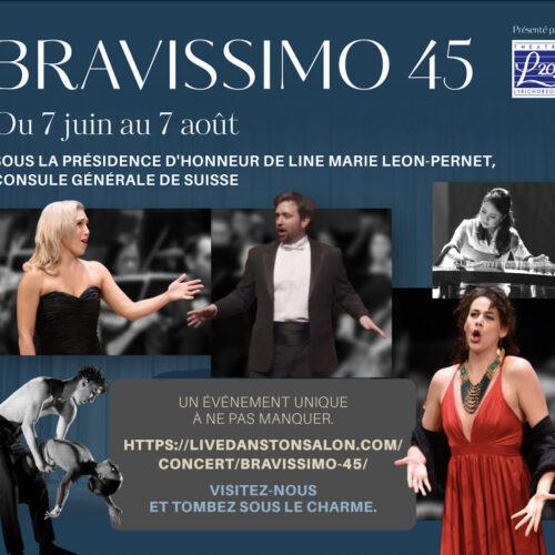 Théâtre Lyrichorégra (L20)- Le Gala « Bravissimo » pour célébrer un 45e anniversaire