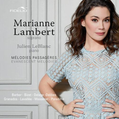 ACTUALITÉS- Mélodies passagères, le premier album de la soprano Marianne Lambert