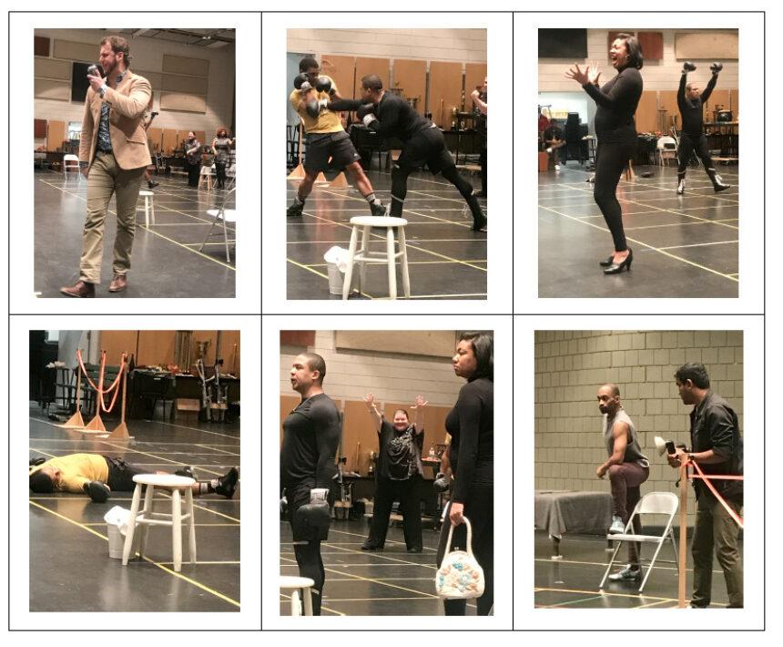ACTUALITÉS- Opéra de Montréal- Des photographies de la répétition de presse d'un Champion... prometteur!