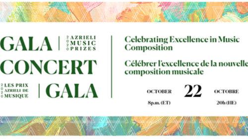 Le Concert Gala des Prix Azrieli de musique 2020 avec Krisztina Szabó et Sharon Azrieli, La Bohème en ligne par l'Opéra de Montréal… et un récital en ligne de la soprano Carole-Ann Roussel