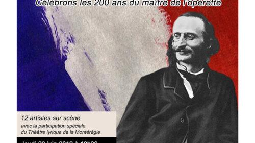 D'Amour et d'Offenbach par Les Productions Belle Lurette, des évènements lyriques du Festival baroque Montréal et la programmation de la 16e édition du Festival d'art vocal de Montréal
