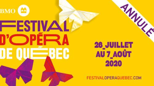 Les annulations du Festival d'Opéra de Québec et du Festival Classica, une belle initiative de l'Orchestre classique de Montréal ... et un chef qui donne l'exemple et se lave les mains!
