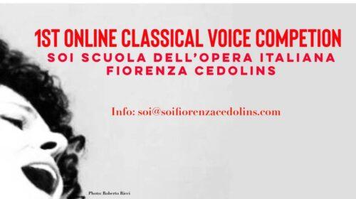 Le premier Concours de chant lyrique virtuel, l' « OPÉRA POUR TOUS » en ligne par l'Opéra de Québec et les « Capsules du coeur » de la Société pour les arts en milieux de santé