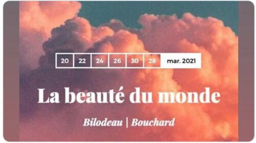 La beauté du monde de Bilodeau et Bouchard en préparation à l'Opéra de Montréal et la soprano Anne-Marie Suire en tête-à-tête dans le cadre des Corona Sérénades de La Scena musicale
