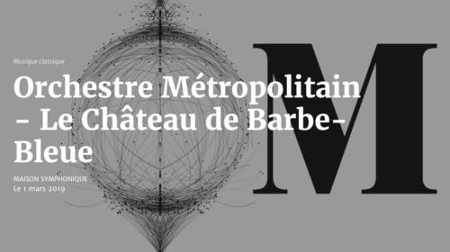 Le Château de Barbe-Bleue avec Michèle Losier et John Relyea à l'Orchestre Métropolitain, Mouvance avec Suzie Leblanc au Festival MNM, Così fan tutte de Mozart à l'Atelier d'opéra de l'Université de Montréal