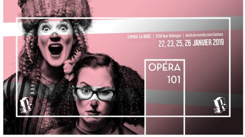 Opéra 101 en supplémentaire, Parlons d'Opéra ! et de Champion encore à l'Opéra de Montréal, l'imminence du récital de John Brancy à la Société d'art vocal de Montréal…