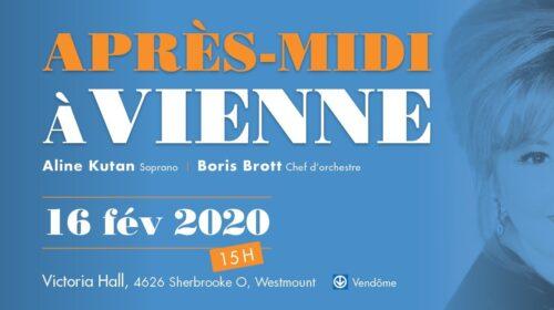 Un Après-midi à Vienne avec la soprano Aline Kutan et Cendrillon à l'Atelier d'opéra du Conservatoire de musique de Montréal