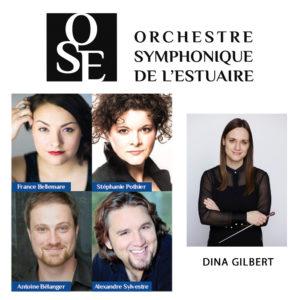 L'Hymne à la Joie par l'Orchestre et le Choeur symphonique de l'Estuaire, l'offensive lyrico-chambriste par Tempêtes et passions et L'Opéra s'expose... avec Opéra+