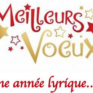 Des voeux pour une Nouvelle année lyrique, La voie de la passion avec Philippe Sly... et du Blogue au Bulletin québécois d'art lyrique