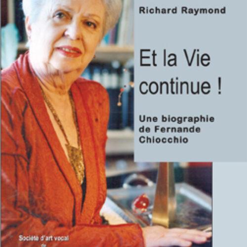 CRITIQUE- LIVRE- Et la vie... de Fernande Chiocchio... continue !